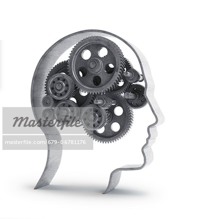 Consciousness, conceptual computer artwork. Stock Photo - Premium Royalty-Free, Image code: 679-06781176
