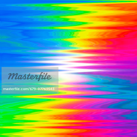 Prismatic pattern, computer artwork. Stock Photo - Premium Royalty-Free, Image code: 679-07763543