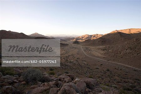 The Richtersveld is a remote region which is hot and dry. It has both natural and cultural criteria that makes it unique. Northern Cape Province, South Africa Stock Photo - Premium Royalty-Free, Image code: 682-05977263