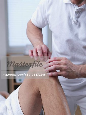 medical massage Stock Photo - Premium Royalty-Free, Image code: 689-03131245