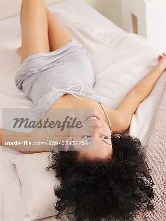 Short cut neglige Stock Photo - Premium Royalty-Free, Image code: 689-03131254