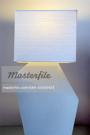 White lamp Stock Photo - Premium Royalty-Free, Image code: 689-05610672