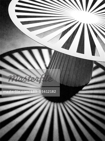 Round pattern with light and shadow Stock Photo - Premium Royalty-Free, Image code: 689-05612182