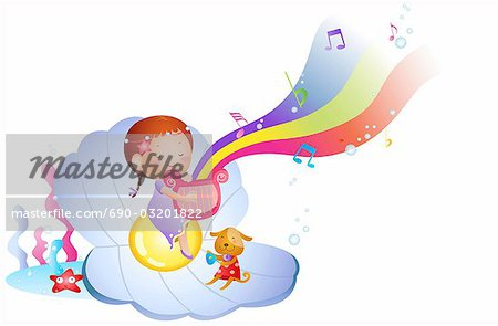 digital background Stock Photo - Premium Royalty-Free, Image code: 690-03201822