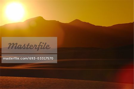 Desert at sunset, USA Stock Photo - Premium Royalty-Free, Image code: 693-03317570