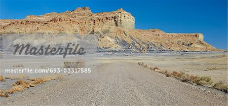 Desert road, USA Stock Photo - Premium Royalty-Free, Image code: 693-03317585