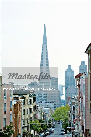 Transamerica Pyramid, San Francisco designed by William Pereira Stock Photo - Premium Royalty-Free, Image code: 693-03474423