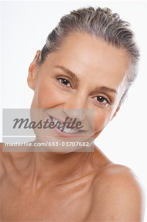Nude Woman Stock Photo - Premium Royalty-Free, Image code: 693-03707682