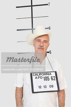Mug shot of senior man Stock Photo - Premium Royalty-Free, Image code: 693-06378942