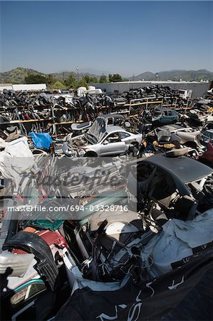 Junkyard Stock Photo - Premium Royalty-Free, Image code: 694-03328716