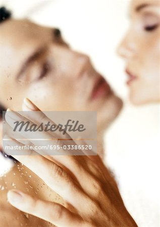 Couple, face to face, close-up Stock Photo - Premium Royalty-Free, Image code: 695-03386520
