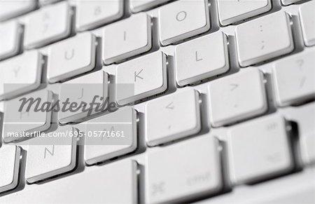 Laptop computer keyboard, close-up Stock Photo - Premium Royalty-Free, Image code: 695-05771661