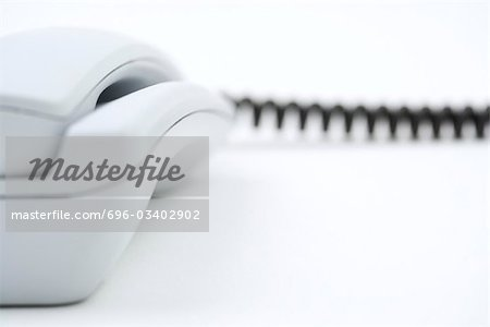 Landline phone, extreme close-up Stock Photo - Premium Royalty-Free, Image code: 696-03402902