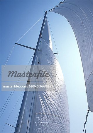 Sail Stock Photo - Premium Royalty-Free, Image code: 698-03669828
