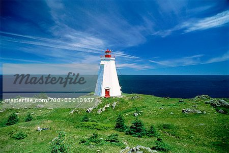 Lighthouse, Grand Manan Island New Brunswick, Canada Stock Photo - Rights-Managed, Image code: 700-00010937