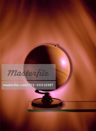 Spinning Globe Stock Photo - Rights-Managed, Image code: 700-00016987