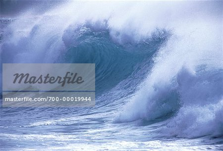 Ocean Waves Hawaii, USA Stock Photo - Rights-Managed, Image code: 700-00019944
