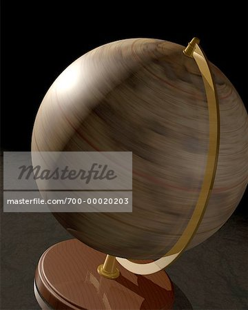 Spinning Globe Stock Photo - Rights-Managed, Image code: 700-00020203