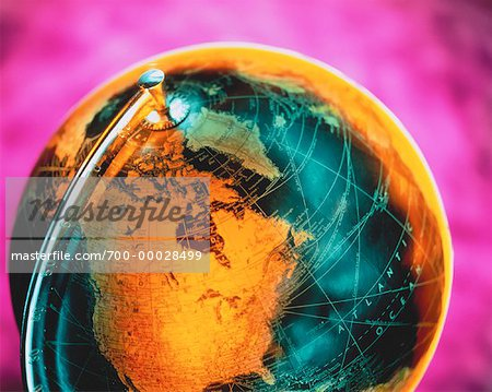 Globe North America Stock Photo - Rights-Managed, Image code: 700-00028499