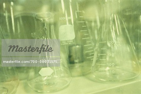 Laboratory Glassware Stock Photo - Rights-Managed, Image code: 700-00031575
