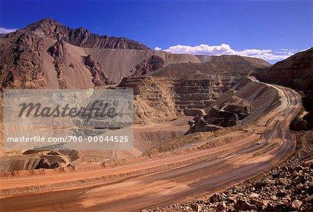 Open Pit Copper Mine Morenci, Arizona, USA
