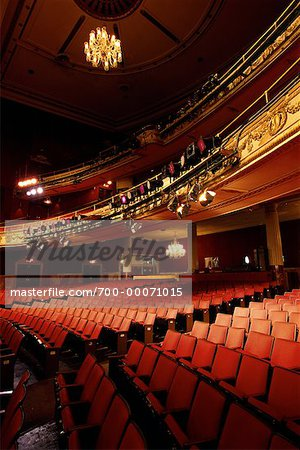 Interior of Apollo Theater Harlem, New York, USA