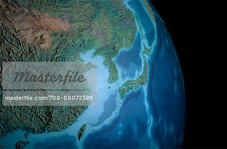 Terrestrial Globe Asia Stock Photo - Rights-Managed, Image code: 700-00072329