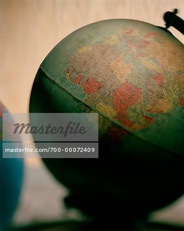 Two Globes Stock Photo - Rights-Managed, Image code: 700-00072409