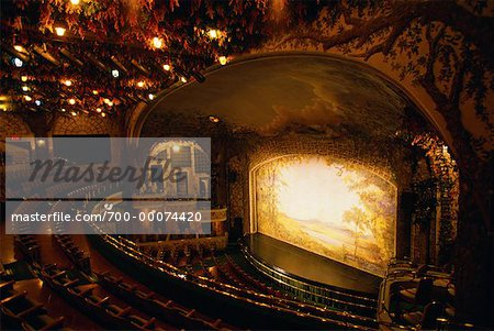 Interior of Winter Garden Theatre, Toronto, Ontario, Canada Stock Photo - Rights-Managed, Image code: 700-00074420