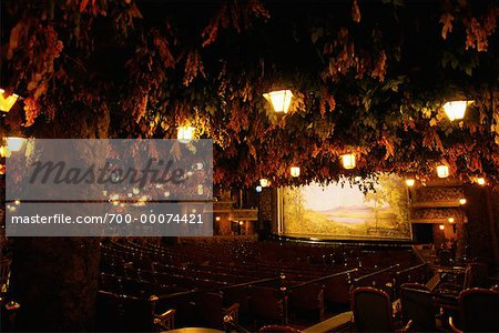 Interior of Winter Garden Theatre, Toronto, Ontario, Canada Stock Photo - Rights-Managed, Image code: 700-00074421