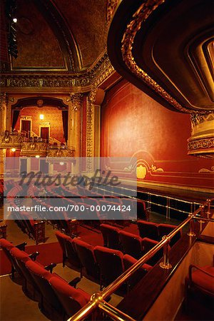 Interior of Elgin Theatre, Toronto, Ontario, Canada Stock Photo - Rights-Managed, Image code: 700-00074424