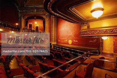 Interior of Elgin Theatre, Toronto, Ontario, Canada Stock Photo - Rights-Managed, Image code: 700-00074425