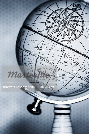 Antique Globe Stock Photo - Rights-Managed, Image code: 700-00078179