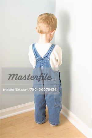 Child Standing Back