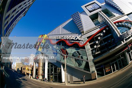 Paramount IMAX Theatre and Street Toronto, Ontario, Canada Stock Photo - Rights-Managed, Image code: 700-00084387