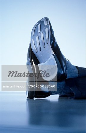 Businessman's Shoes    Stock Photo - Premium Rights-Managed, Artist: Dave Robertson, Code: 700-00088060