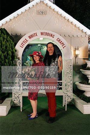 drive thru wedding chapel las vegas nevada usa stock photo