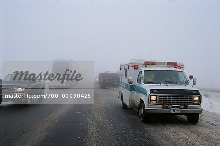 Highway Accident Stock Photo - Rights-Managed, Image code: 700-00090426