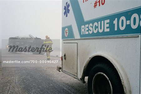 Highway Accident Stock Photo - Rights-Managed, Image code: 700-00090427