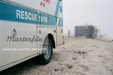 Highway Accident Stock Photo - Rights-Managed, Image code: 700-00090428