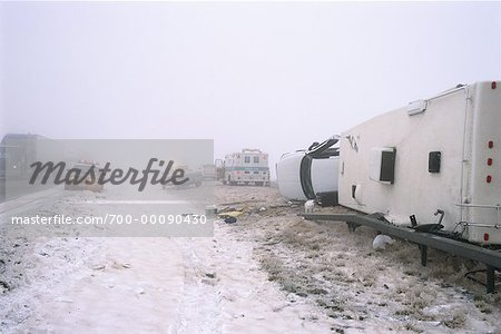 Highway Accident Stock Photo - Rights-Managed, Image code: 700-00090430