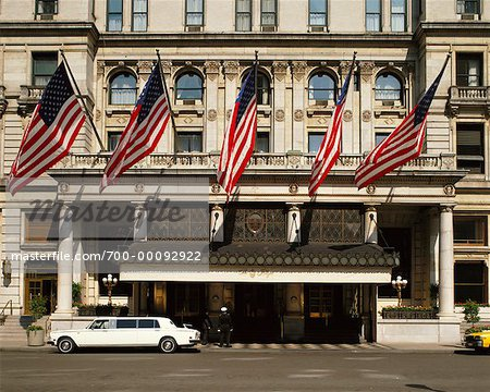 The Plaza Hotel New York City, New York, USA Stock Photo - Rights-Managed, Image code: 700-00092922