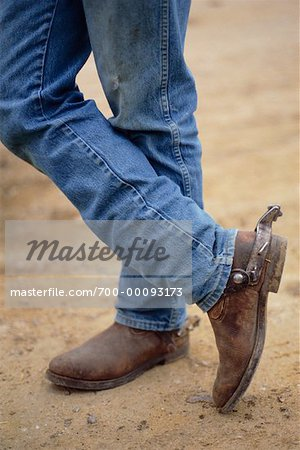 Man in Cowboy Boots - Stock Photo - Masterfile - Rights-Managed ...
