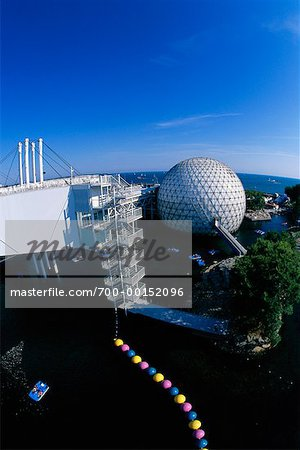 Cinesphere and Skydeck Ontario Place Toronto, Ontario, Canada Stock Photo - Rights-Managed, Image code: 700-00152096