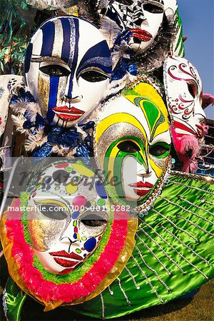 Detail of Caribana Costume Stock Photo - Rights-Managed, Image code: 700-00155282