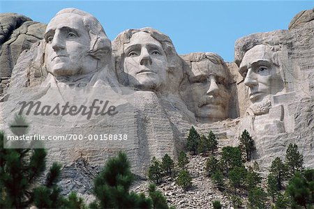 Mount Rushmore South Dakota, USA Stock Photo - Rights-Managed, Image code: 700-00158838