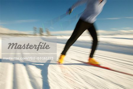 Woman Cross Country Skiing Stock Photo - Rights-Managed, Image code: 700-00161273