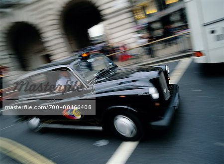 London Cab, London, England Stock Photo - Rights-Managed, Image code: 700-00166408