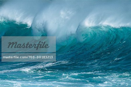 Ocean Wave Hawaii, USA Stock Photo - Rights-Managed, Image code: 700-00183213