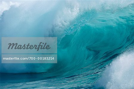 Ocean Wave Hawaii, USA Stock Photo - Rights-Managed, Image code: 700-00183214